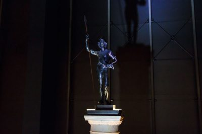 bronz mars heykeli zeugma 400x266