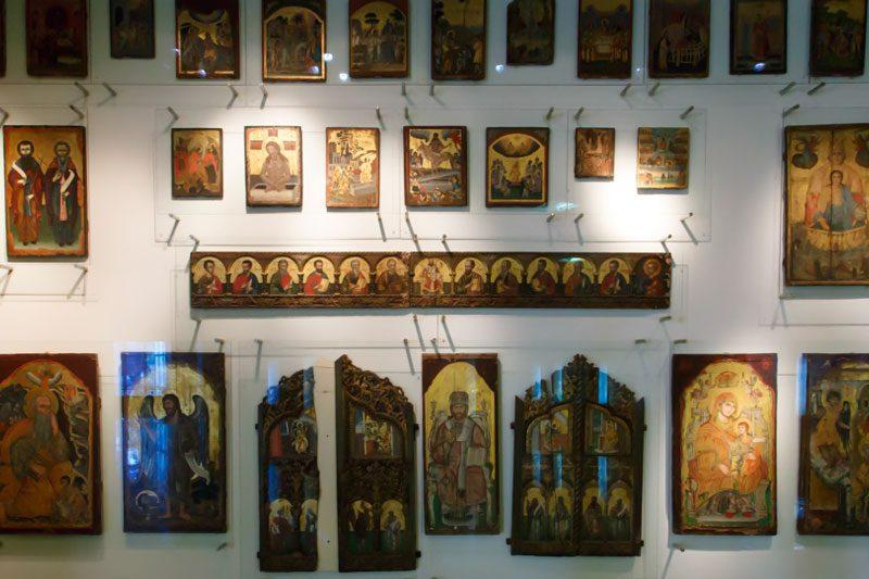 antalya arkeoloji muzesi mozaik ikona salonu