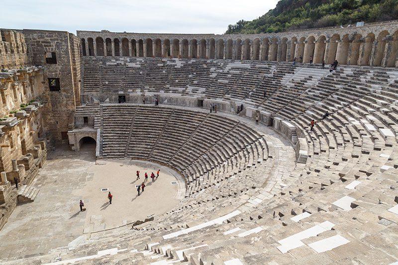 antalya aspendos antik kenti gezi yazisi