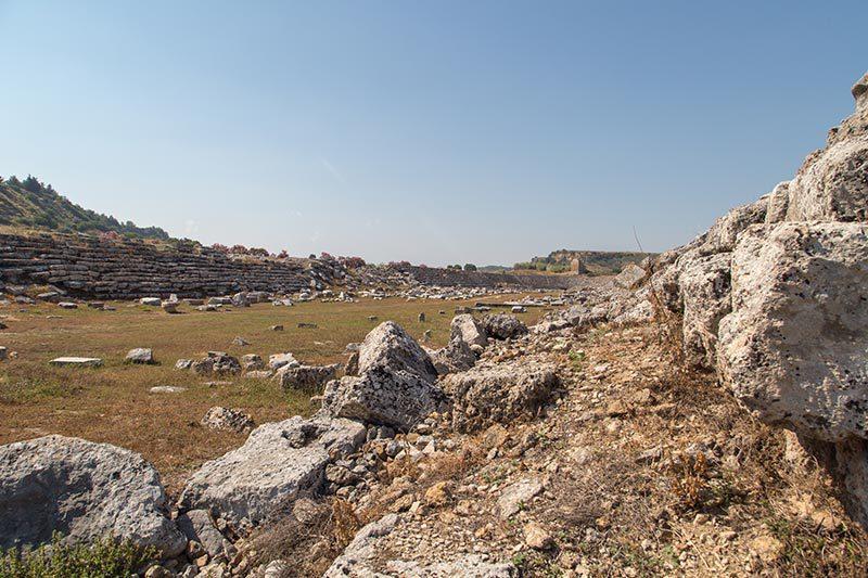 antalya perge antik kenti stadyumu