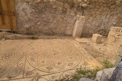 arykanda antik kenti asagi agora odalari mozaik 400x266
