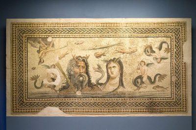 deniz tanrisi mozaigi 400x266