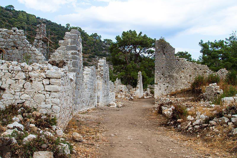 olimpos tarihi kalintilar