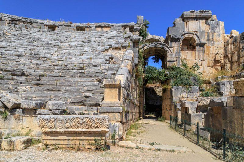myra antik kenti gezi yazisi