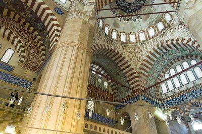 edirne selimiye camii kulliyesi sanatsal islemeleri 400x266