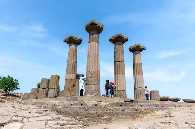 assos antik kenti nerede nasil gidilir