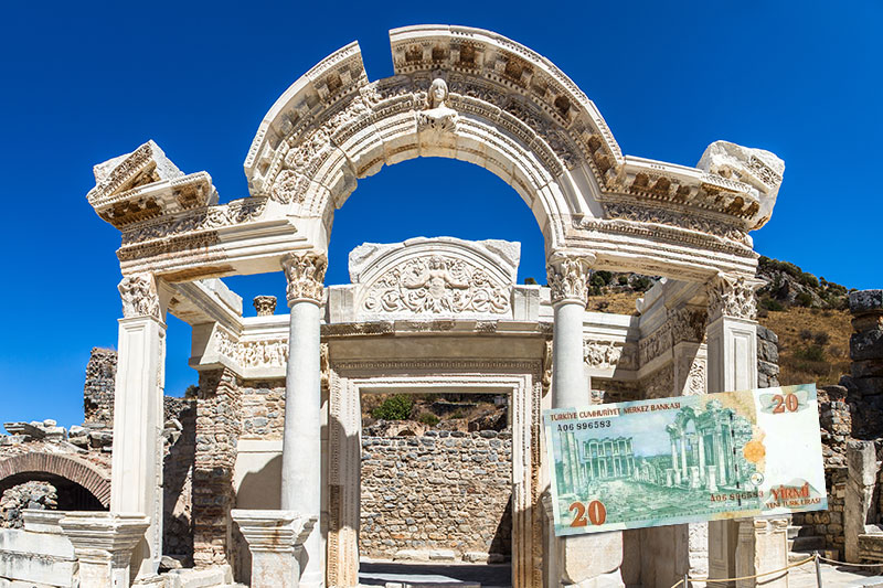 efes antik kenti hadrianus kapisi gezisi