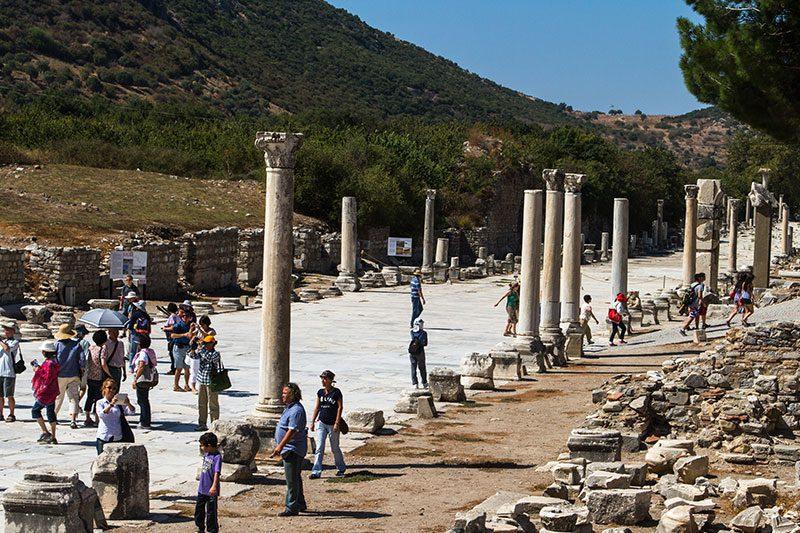 efes antik kenti tarihi limani gezisi