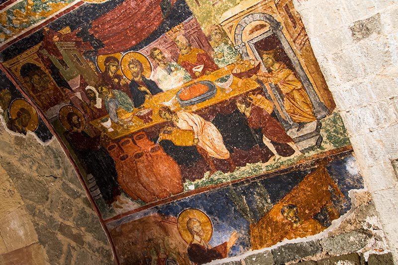 trabzon ayasofya muzesi fresk
