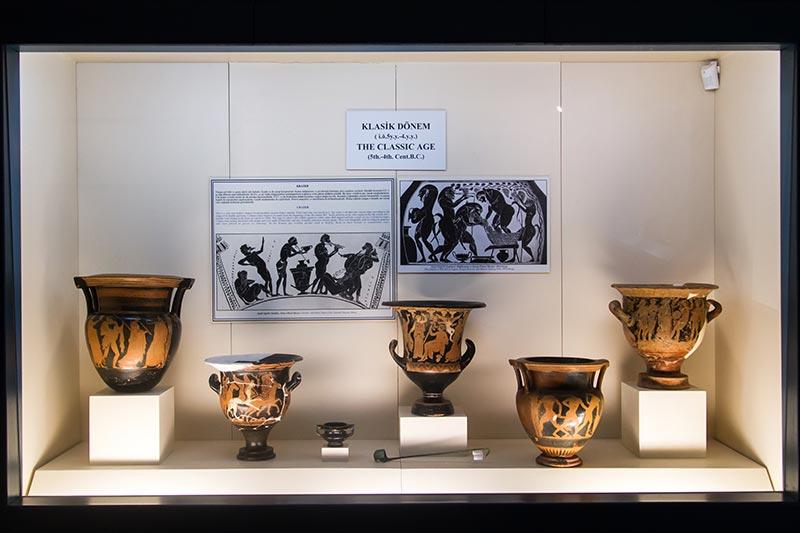 antalya arkeoloji muzesi seramik