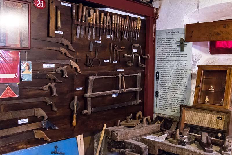 bozcaada muzesi marangoz