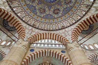 edirne selimiye camii kubbesi 400x266