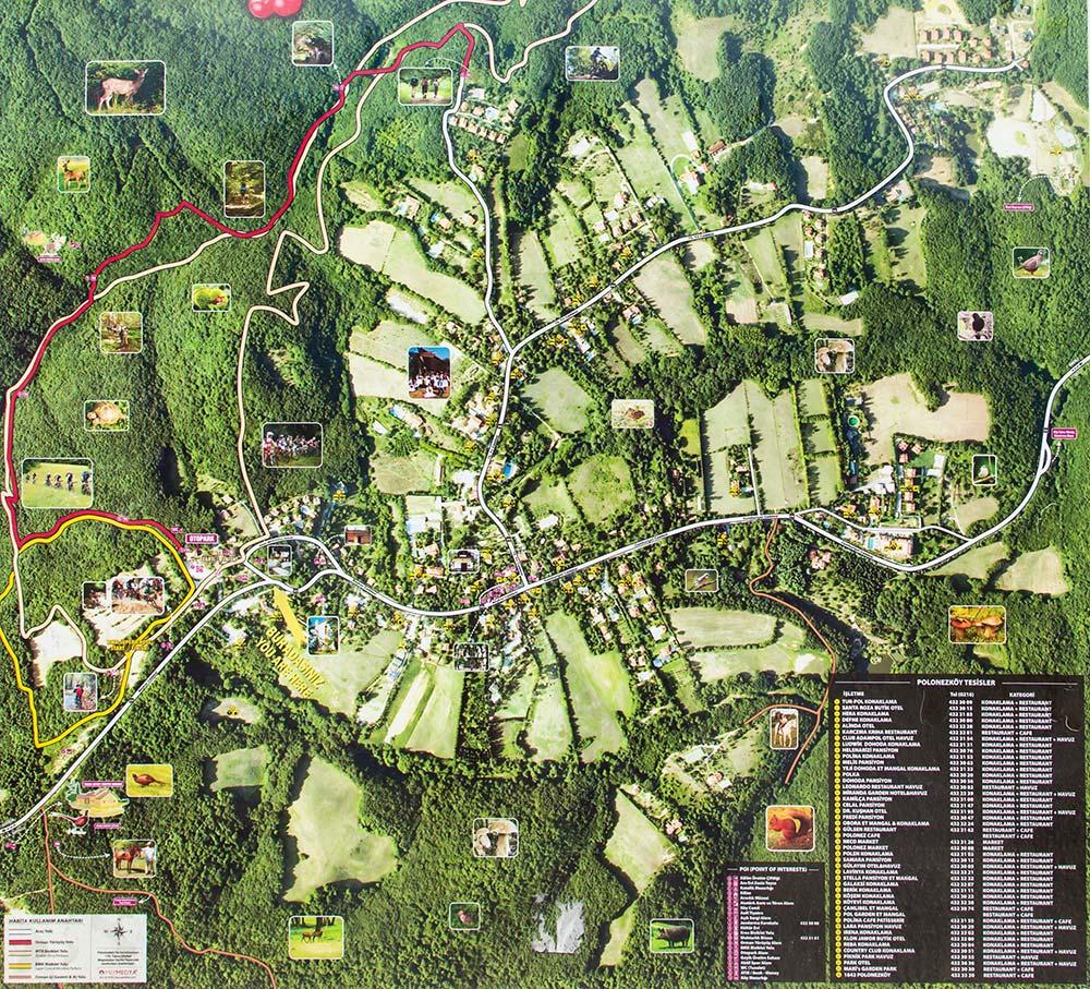 polonezkoy haritasi