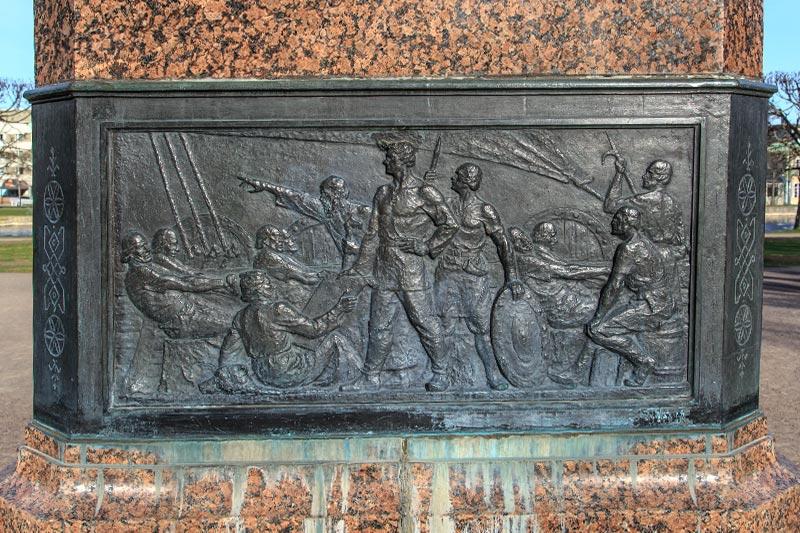 Friedrich Reinhold Kreutzwald kabartmalari
