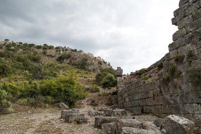 kaunos antik kent kalesi 2 400x266