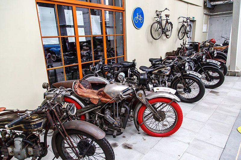 enerji teknoloji muzesi motorsikletler