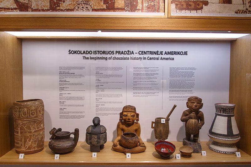 kakao muzesi aztek maya buluntulari
