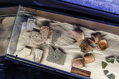 kaunas kalesi arkeolojik buluntular 400x266