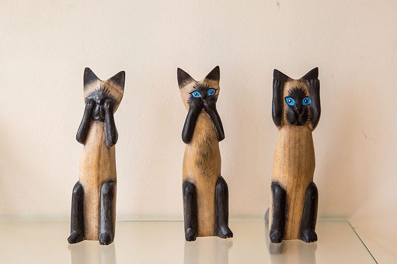 kedi muzesi figuru