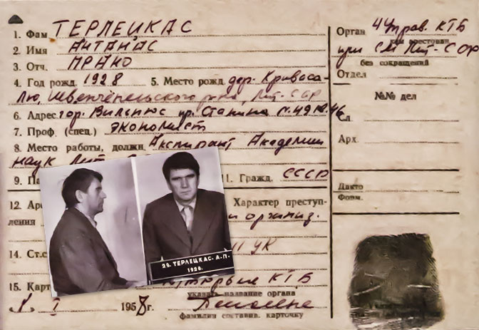 litvanya kgb muzesi ornek tutuklu karti