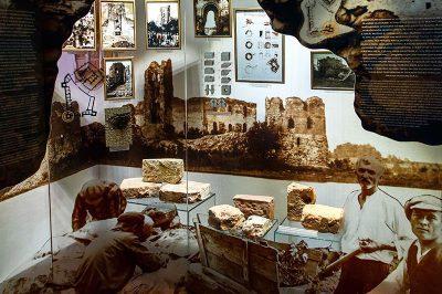 trakai kalesi arkeolojik buluntular 400x266