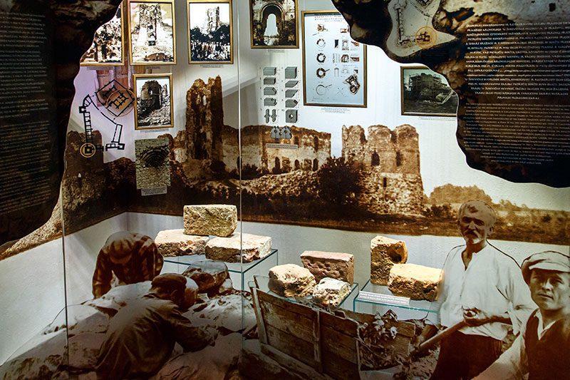 trakai kalesi arkeolojik buluntular