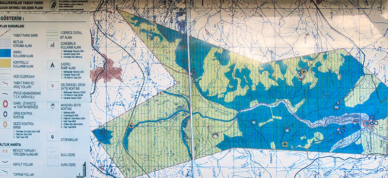 ballikayalar harita