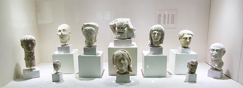 kocaeli arkeoloji etnografya muzesi kafa heykelleri