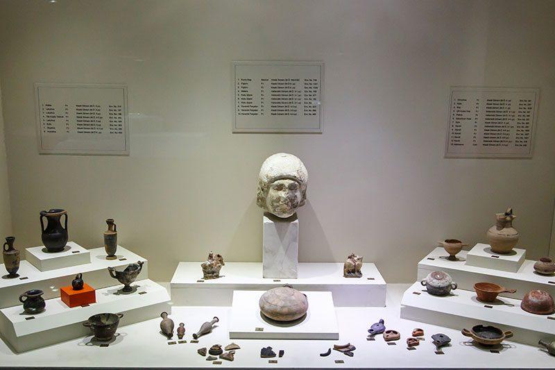 kocaeli arkeoloji etnografya muzesi vitrinler