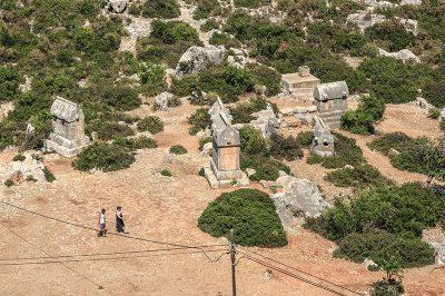 simena antik kenti likya mezarlari 400x266