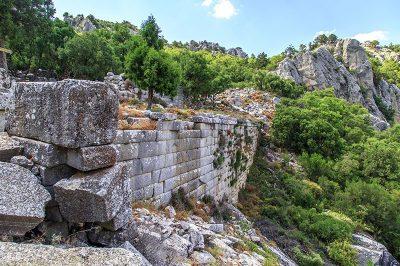 termessos antik kenti drenaj sistemi 400x266