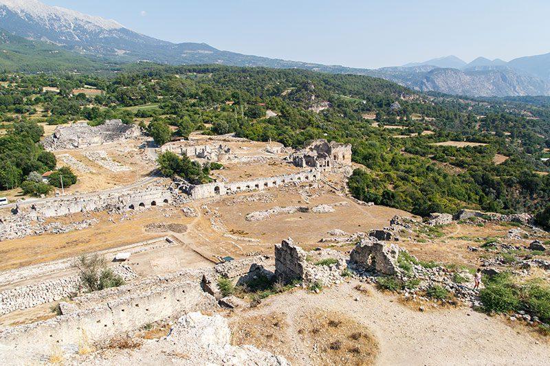 tlos antik kenti stadyum