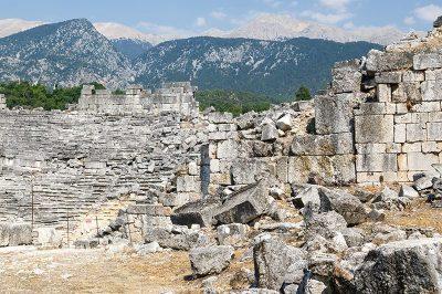 tlos antik kenti tiyatrosu gezi rehberi 400x266