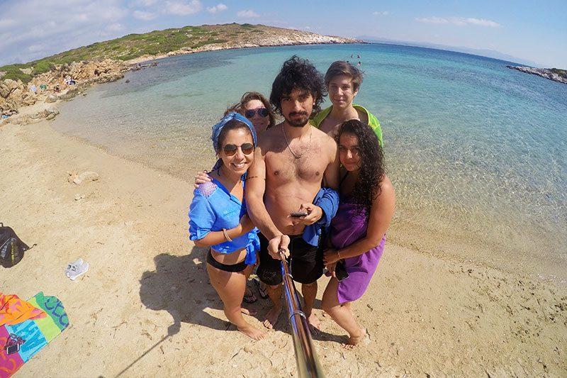 bozcaada akvaryum koyu plaji gezisi