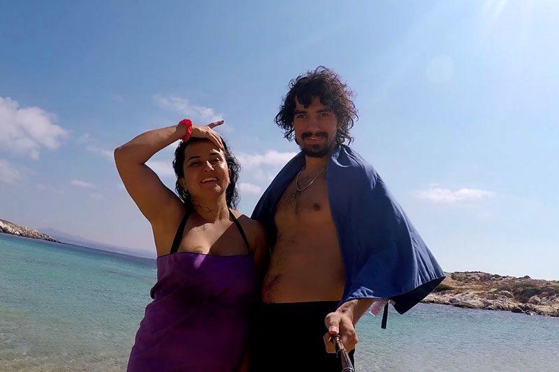 bozcaada akvaryum koyu plaji