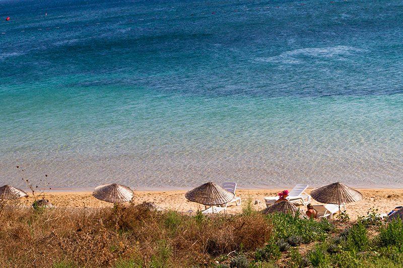 bozcaada habbele koyu plaji