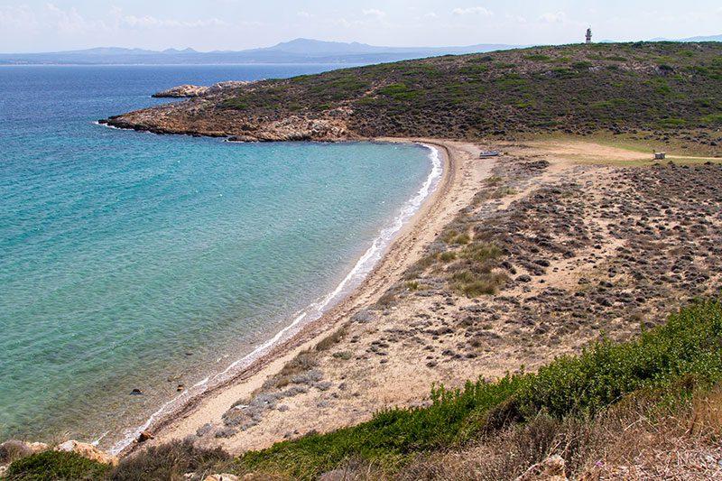 bozcaada tuzburnu plaji gezisi