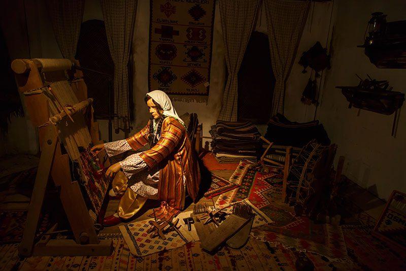 osmaniye kent muzesi dokumaci
