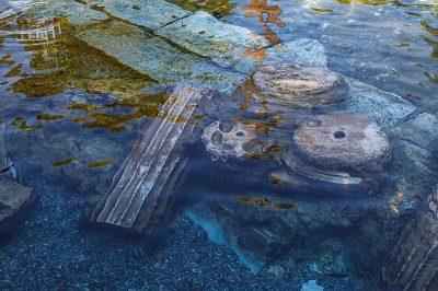 denizli pamukkale antik havuz tarihi sutunlar 400x266
