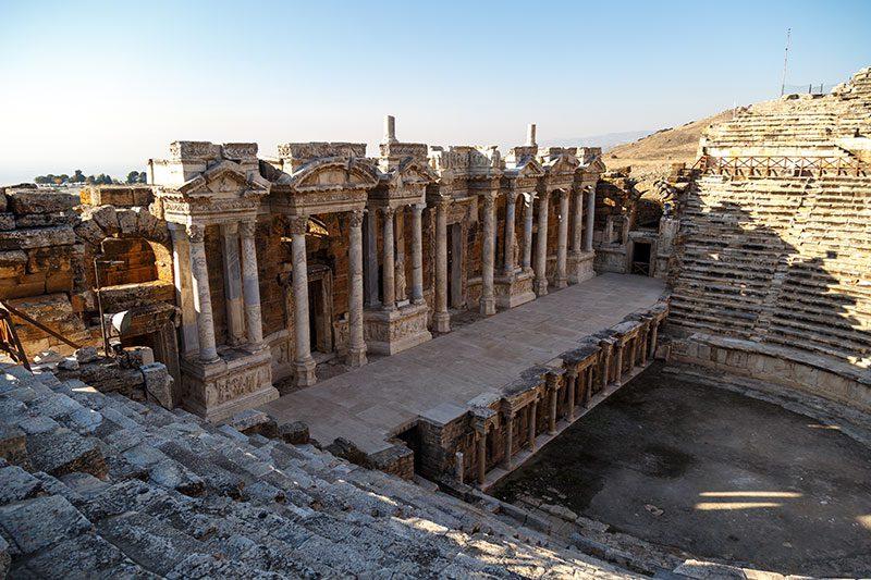 hierapolis antik kenti tiyatrosu