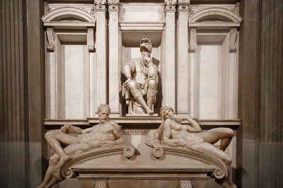 michelangelo urbino lorenzo heykeli 400x266