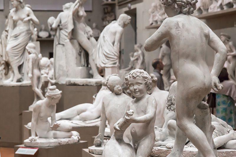 floransa galleria dell accademia sanat galerisi heykelleri