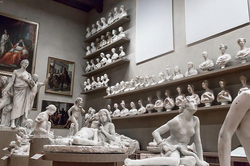 floransa sanat galerisi heykelleri