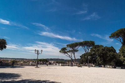 pincio bahceleri roma piazza popolo 400x266