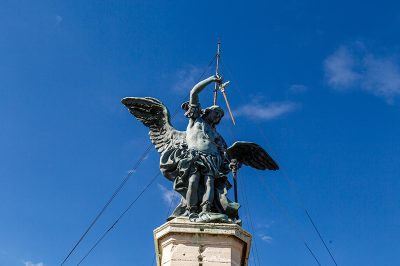 roma castel angelo melek heykeli 400x266