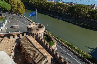 roma castel angelo nehir manzarasi 400x266