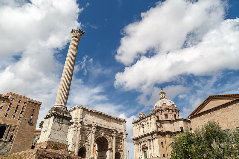 roma forum fokas sutunu
