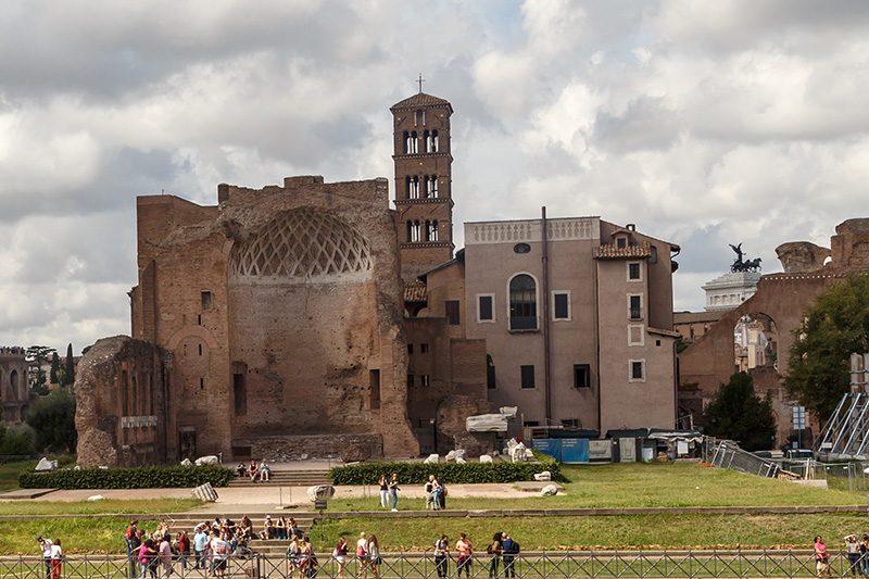 roma forum palatino tepesi