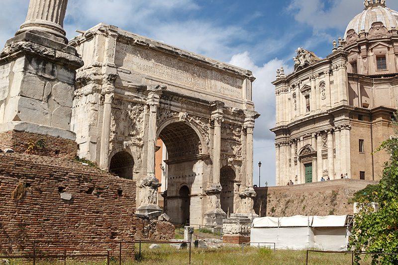 roma forum septimius severus kemeri gezisi