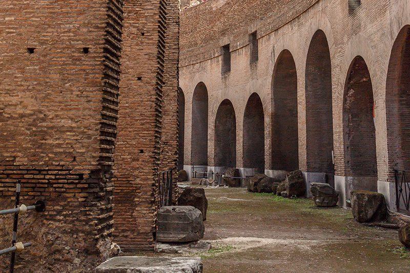 roma kolezyum yeralti kompleks yapisi